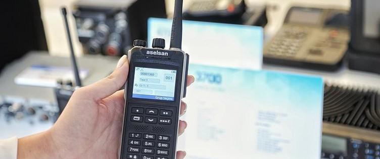 Aselsan'dan GPS Entegreli Telsiz